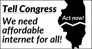 Tell Congress we need affordable internet for all!